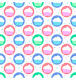 colorful pattern of cakes vector image