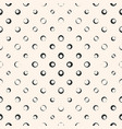 Halftone dots bubbles seamless pattern abstract vector image