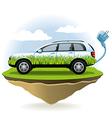 EcoCar vector image vector image