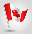 flag canada vector image