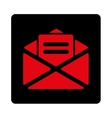 Open mail icon vector image