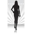 fashion parade icon vector image