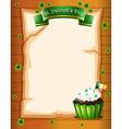 A St Patricks day stationery vector image