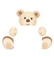 bear blank vector image