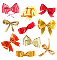 Bow Icons vector image