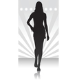fashion parade icon vector image