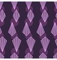 Geometric purple background vector image