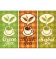 cup of different tea vector image