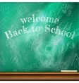 Back to school template design plus EPS10 vector image