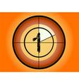 circle countdown vector image vector image