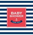 baby shower join us vector image