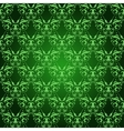 Vintage Damask seamless pattern on green vector image