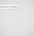 Serviette texture vector image vector image