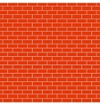 red brick background texture Eps10 vector image vector image