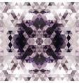 Triangular Mosaic Purple Background vector image