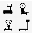 Shipping scales vector image