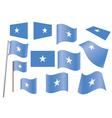 Flag of Somalia vector image