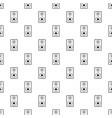 subwoofer pattern vector image
