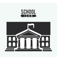school icon design vector image