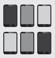 Blank Screen Smart Phone vector image