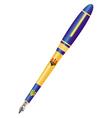fountain pen vector image