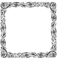 Design frame black vector image vector image