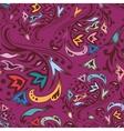 Purple swirl pattern vector image