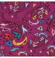 Purple swirl pattern vector image