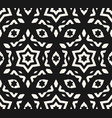 ornamental seamless pattern geometric figures vector image