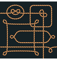frames rope vector image