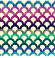 seamless retro scallop background vector image