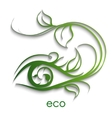eco nature vector image