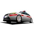 al 1115 police car vector image vector image
