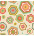 Abstract parasols vector image