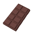 Chocolate icon in cartoon style isolated on white vector image