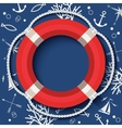 Lifebuoy Banner vector image