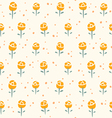 Little roses pattern vector image
