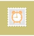 Alarm Clock stamp vector image