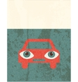 Retro grunge poster Car vector image vector image