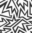 monochrome foliage seamless pattern vector image