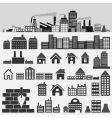House icons4 vector image