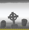 grave vector image vector image