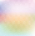 Pastel polka dot background vector image vector image