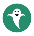 Ghost flat icon vector image vector image