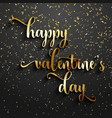 valentines day confetti background vector image vector image