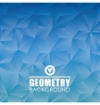 Geometry wallpaper or background vector image