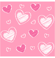 hearts valentine vector image