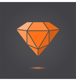 Ruby jewel vector image