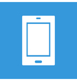 Tablet flat icon vector image
