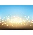Summer lights background vector image